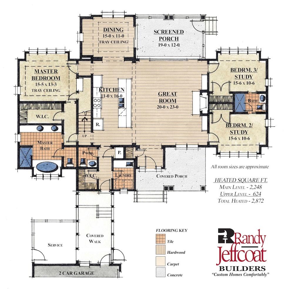 Live Oak Idea Home Click To View Floor Plan