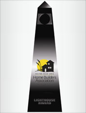 recipient of home builder lighthouse awards