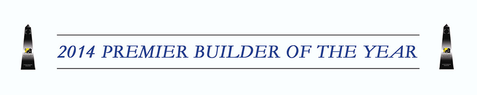 2014 premier builder of the year